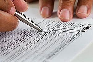 бланки подоходных деклараций