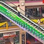 реклама на эскалаторах
