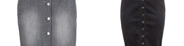 Джинсовые юбки от John Bayer и Sheego